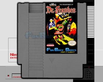 """IN STOCK! """"The Adventures Of Dr. Franken"""" Unreleased Nintendo NES Platformer Frankenstein!"""