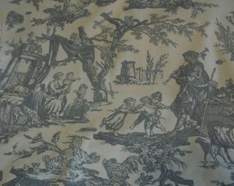 Offering to Love Toile Decorator Fabric