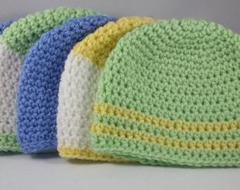 Crochet Newborn Baby Hat | Free Shipping
