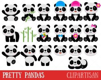 Panda Clipart / Panda Bear Clip Art