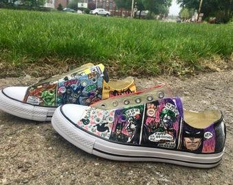 Batman Riddler Comic shoes