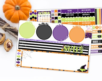 October Halloween Notes Kit