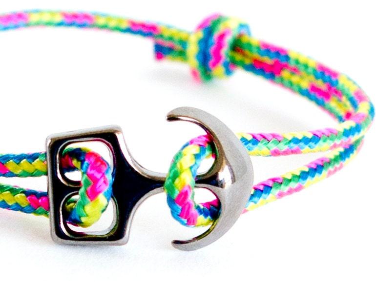 rock climbing jewelry, mens anchor bracelet, anchor bracelet