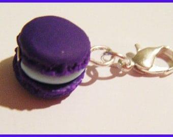Charm's macaron polymer clay jewelry clay purple mint ice