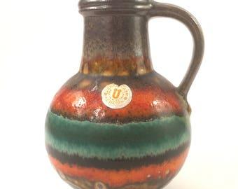 Vintage Überlacker vase 1808 18, West Germany