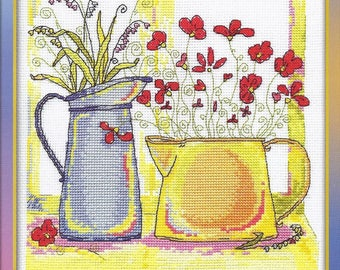 Counted Cross Stitch Kit Morning Watercolours C-0824