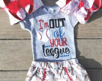 baseball outfit, baseball t shirt and baseball shorts, glitter monogram shirt, softball shirt