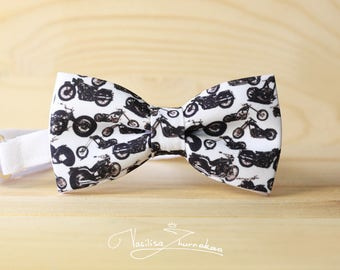 motorcycle harley bowtie - bow tie