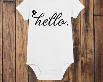 Infant Hello Onesie
