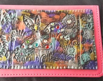 Polymer clay fairy journal
