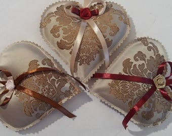 Lavender Hearts Bags-Elegance Collection