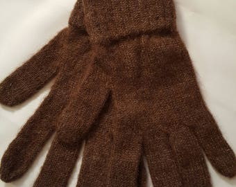 Alpaca Gloves - Large