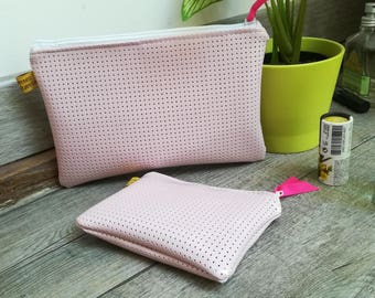 Set of Lacy pink varnish coating, gift idea!
