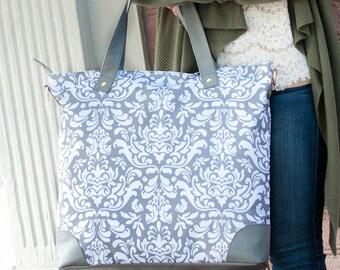 Ella Grey Monogrammed Shoulder Bag - Ella Grey Shoulder Bag - Monogrammed Shoulder Bag - Monogrammed Luggage - Monogrammed Travel Bag