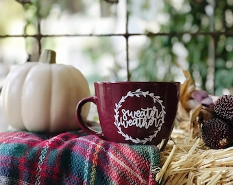 SWEATER WEATHER mug | Sweater Weather | Mug