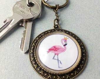 "Key fob ""Flamingo"""