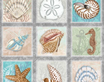 Seaside Dreams - Panel - Sharla Fults - Studio e - Beauty and Tranquility!