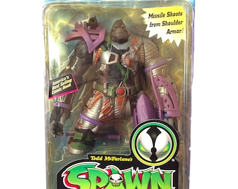 McFarlane's Toys Spawn Cy-Gor Ultra-Action Figures Series 4 Deluxe MOC 1996