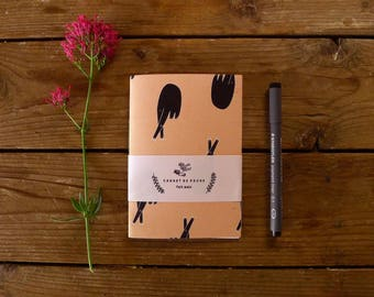 Notebook. Design: hand palmistry, good luck. 24 pages.