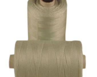 Spool of thread sewing 100% polyester each containing 1000 yards (approx. 914 m) / 182 Ice blue