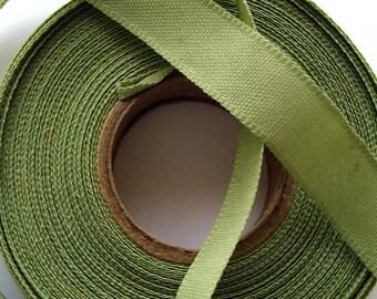 Beautiful light green binding Ribbon