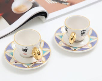 Soulmate Tea cup and saucer/espresso cup