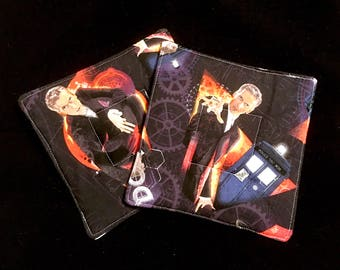 Doctor Who 12th Doctor Pot Holders - set of two