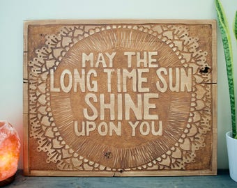 Long Time Sun Wall Hanging