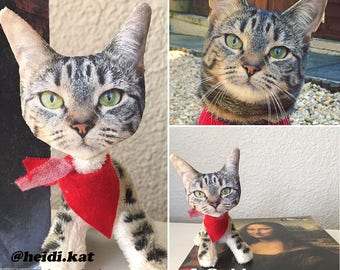 Personalized Pet- Stuffed Cat Toy