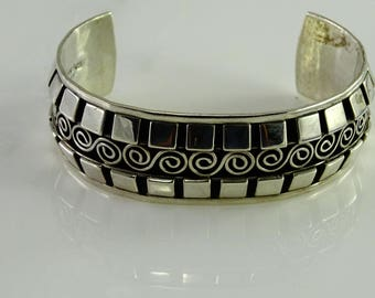 Large Cuff Sterling