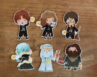 Harry Potter die cuts. Die cuts to decorare your planner, memory book, scrapbook or travelers notebook. Ephemera