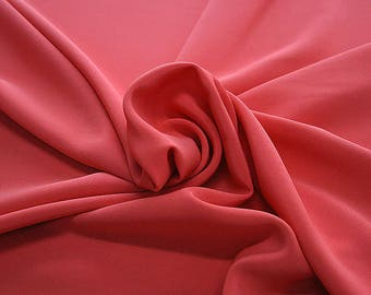 305107-Crepe marocaine Natural Silk 100%, width 130/140 cm, made in Italy, dry cleaning, weight 215 gr