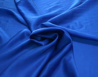 812141-Natural silk crepe Satin 100%, width 135/140 cm, made in Italy, dry cleaning, weight 98 gr