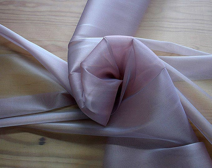 232126-Organdy natural Silk Cangiante 100%, litmus, width 135/140 cm, made in Italy, dry cleaning, weight 55 gr