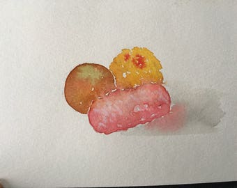 Sweets for my Sweet 5x7 Greeting Card