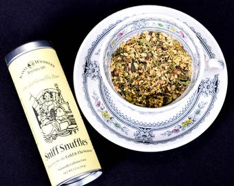 Sniff Snuffles Loose Leaf Herbal Tea for Seasonal Illness