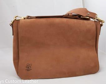Messenger Bag, Leather Satchel, Laptop bag, Leather Messenger bag, US Postal Bag, Brief case