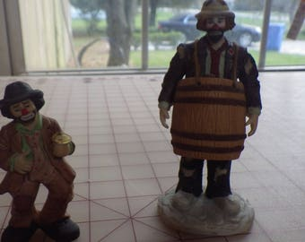 Emmett Kelly Jr Miniature Collection