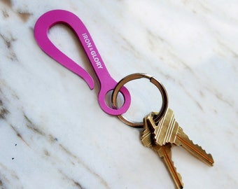 Keyhook Keychain, Pink