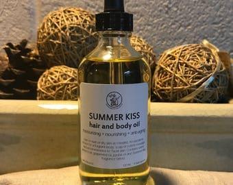 Hair and Body Oil-Summer Kiss