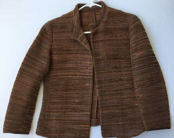 Handmade jacket for real leather Size -s