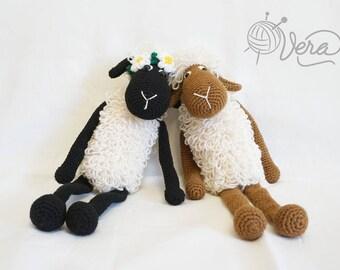 Amigurumi Sheep Doll : PATTERN : Sheep / Lamb Amigurumi Sheep Amigurumi Lamb