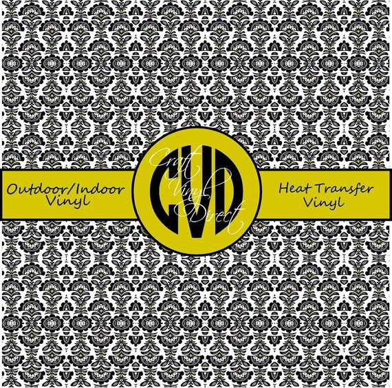 Beautiful Patterned Vinyl // Patterned / Printed Vinyl // Outdoor and Heat Transfer Vinyl // Pattern 262