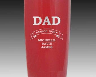 20 oz Fathers Day YETI gift custom personalized gift