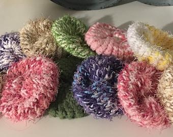 Knit Scrubby Sets