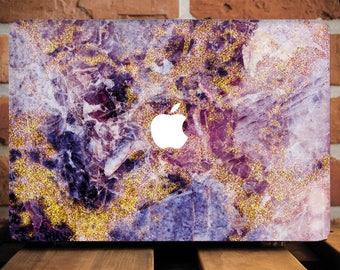 Purple Marble MacBook Pro Case MacBook Air 11 Case MacBook Pro Retina 15 Case Macbook Air Cover 11 Macbook Air Case Macbook 12 Inch WCm_135