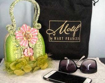 Another great Mary Frances purse that is a must have for Spring