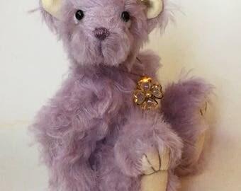 Mohair Artist Bear by Chicago Bear Co: Ophelia