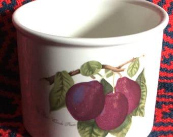 Portmeirion Pomona bowl/Small Planter - Reine Claude plum