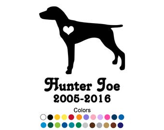 Pet Memorial Decal Etsy